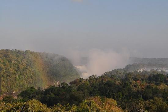 Meliá Iguazú: View of Diablo from Sheraton balcony