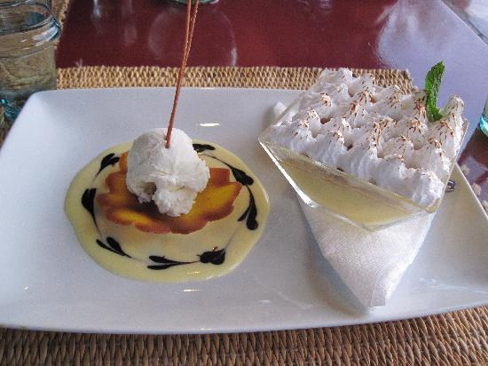 Cafe Des Epices: Yes, I took a photo of my pudding!