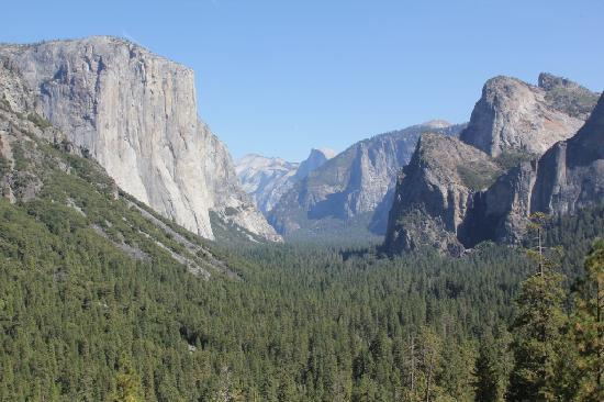 Tunnel View: Panoramic
