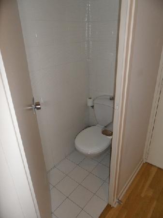 Chateau de Pizay: Separate toilet