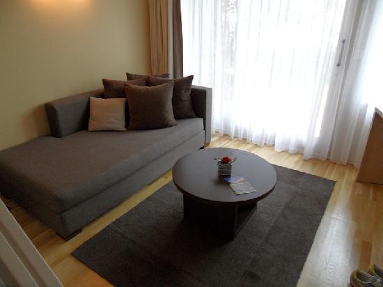 Chateau de Pizay: Suite's lounge