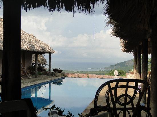 คาซ่า เดอ โอลาส โฮเต็ล: View from the bar