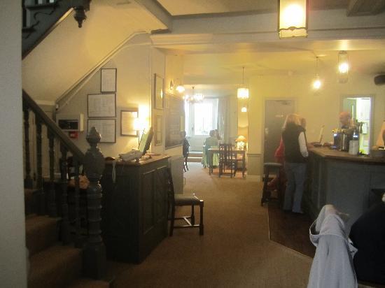 Falcon Inn: The Hotel Dining area,