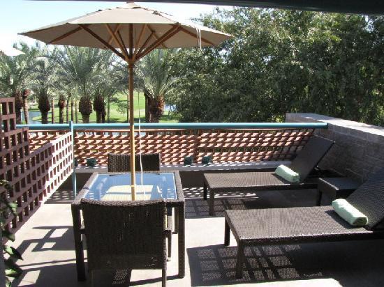 Hyatt Regency Scottsdale Resort and Spa at Gainey Ranch: Patio