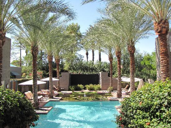 Hyatt Regency Scottsdale Resort and Spa at Gainey Ranch: Avenia Spa Pool & Reflection Pond