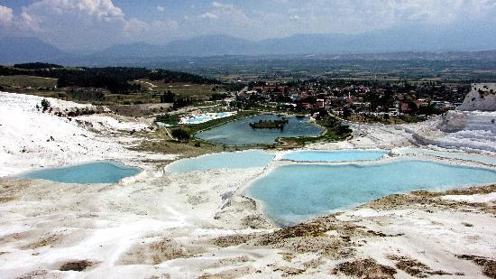 True Blue Tours - Day Tours : The valley of Pamukkale