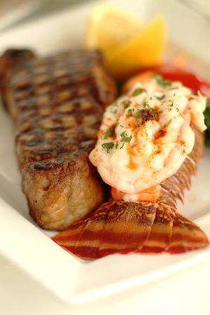 Ric's Grill: Steak & Nova Scotia Lobster Tail