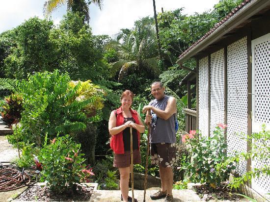 Rainforest Inn: Before Our Waterfall Hike