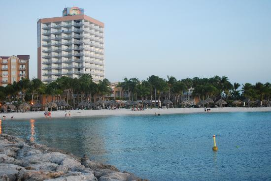view of hotels on Palm Beach