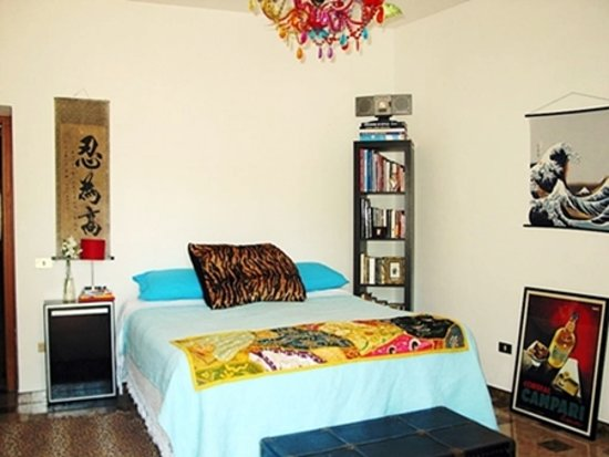 My Salerno Apartment: the masterbedroom