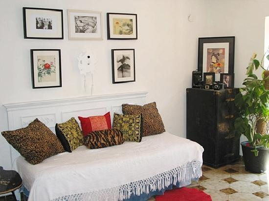 My Salerno Apartment: the lounge