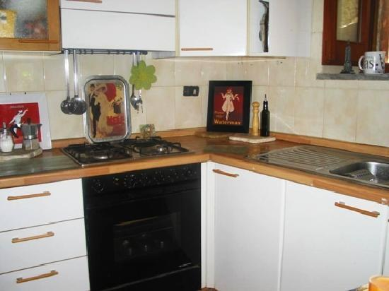 My Salerno Apartment: kitchen access included!