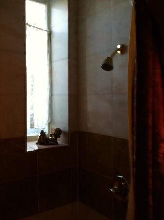 นอบฮิลล์โฮเต็ล: Non functioning shower