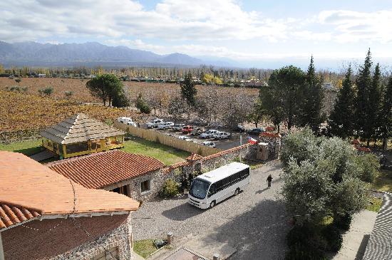 Lujan de Cuyo, Argentina: DESDE LA TORRE