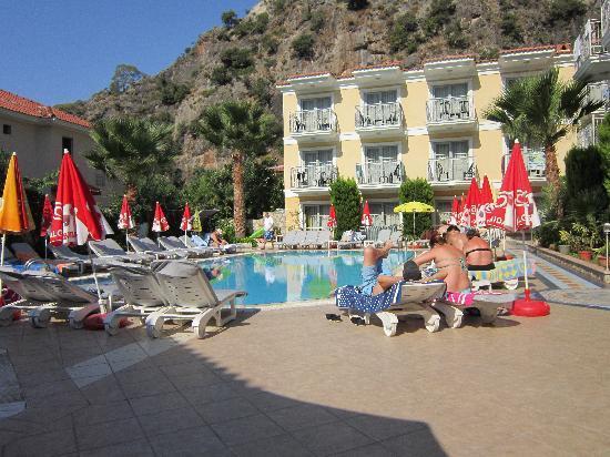 Villa Beldeniz: The Pool area