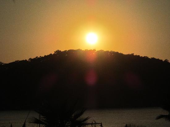 Villa Beldeniz: sunset