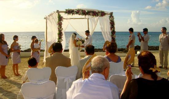 Presidente Inter-Continental Cozumel Resort & Spa: La Ceremonia