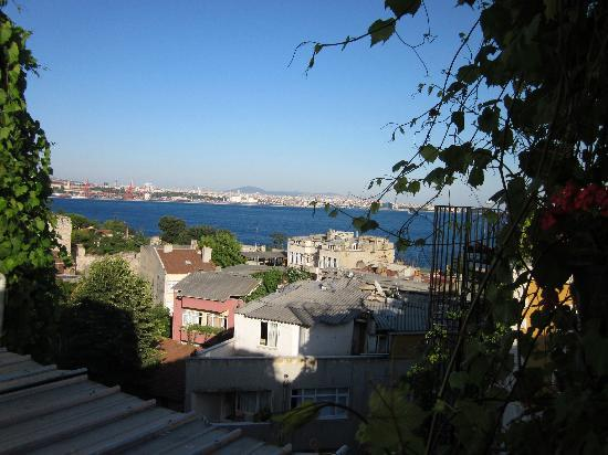 Marmara Guesthouse: View from the Patio
