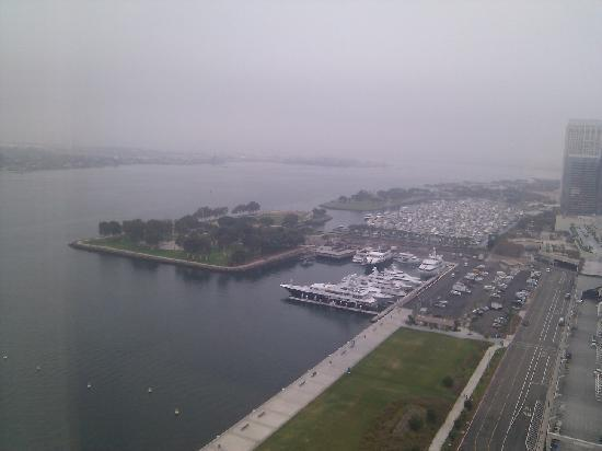 Hilton San Diego Bayfront: View from our room on 22nd floor