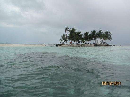 """Placencia Eagle Ray Tours: This is a """"national park: in Belize....seriously.  They do this to protect the island."""