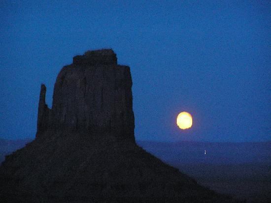 The View Hotel: Moon Rise over the Mittens