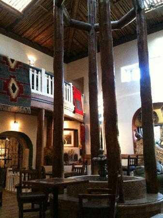 The Historic Taos Inn: Taos Lobby - live entertainment every night
