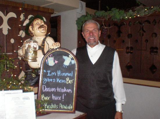 Sherman House: Doug Bessler, the owner and hospitality expert