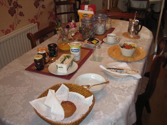 Torran B&B: The Spread (my special diet breakfast)
