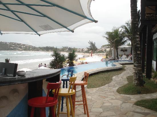 Chez Pitu Praia Hotel: Bar