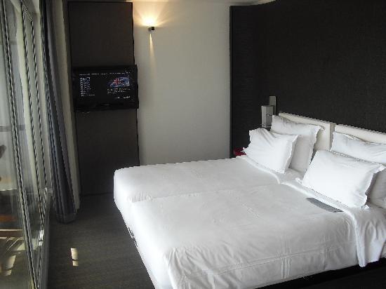 โรงแรมเลอเมอริเดียน นีซ: Bedroom