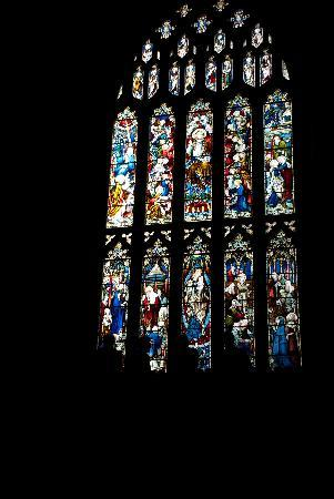 St Mary Redcliffe Church: Amazing windows