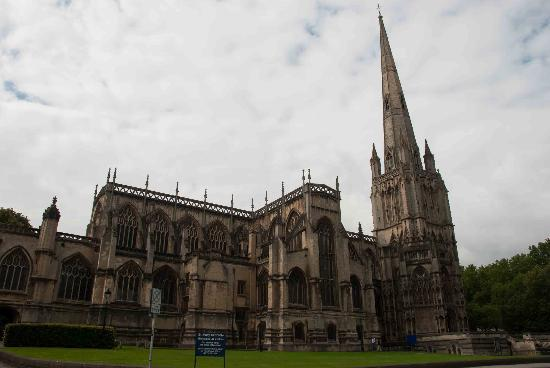 St Mary Redcliffe Church: Lovely church