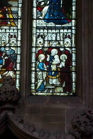 St Mary Redcliffe Church: Window detail