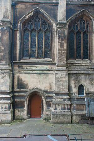 St Mary Redcliffe Church: Side door