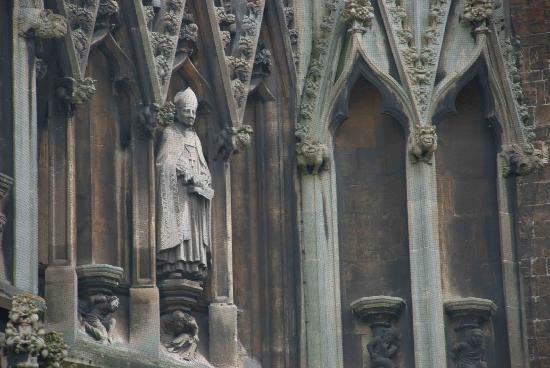 St Mary Redcliffe Church: Gargoyles on the church