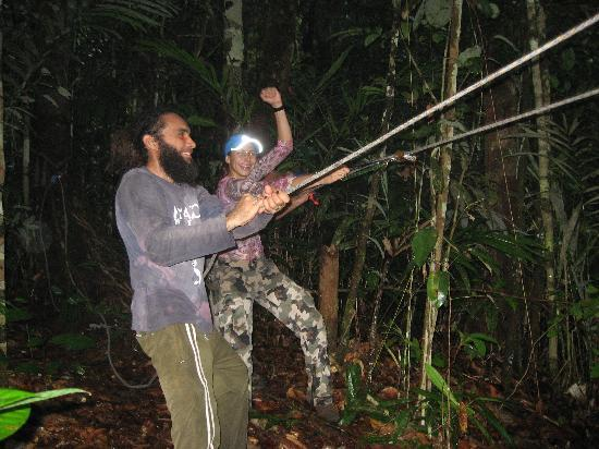 Amazon Mystery Tours: The end of the zipline