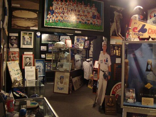 Canadian Baseball Hall Of Fame Museum One The Interesting Rooms Inside
