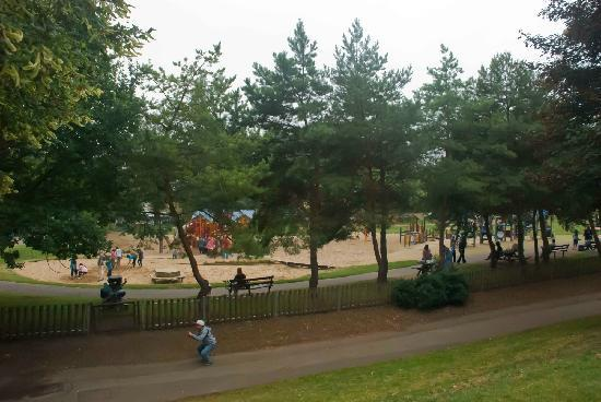 Royal Victoria Park: Playground in the park