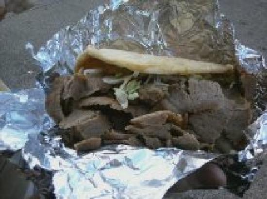 West Side Market: The regular size gyro! (Can you imagine the large!?!?)