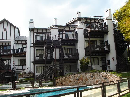 Villa Ostende Apart & Hotel Spa: Desde el jardin