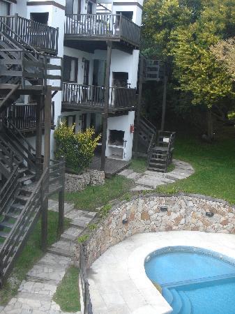 Villa Ostende Apart & Hotel Spa: Desde el cuarto