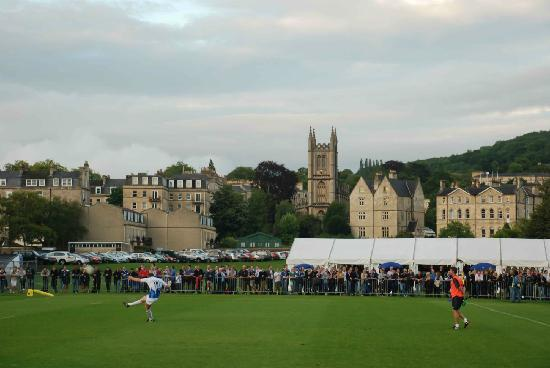 Recreation Ground: Great location for a kick