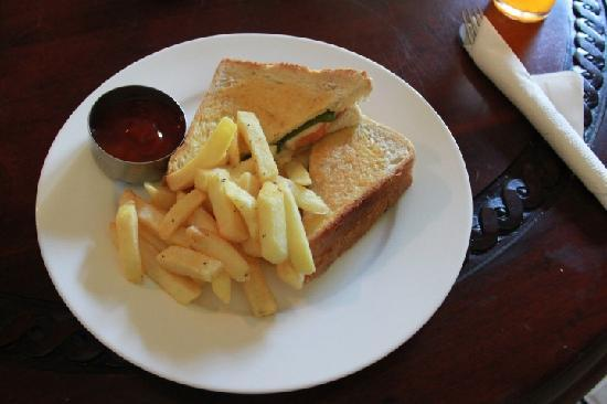 Wellesley Resort Fiji: Toasted Sandwich, very tasty!