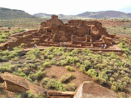 Wupatki National Monument: The Pueblo