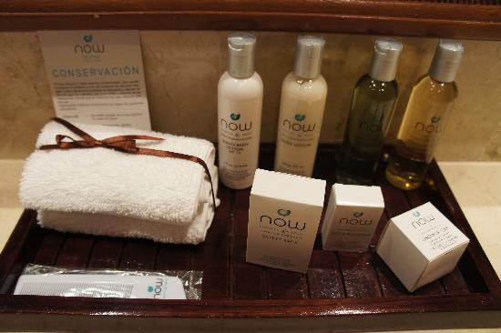 Now Larimar Punta Cana: bathroom amenities
