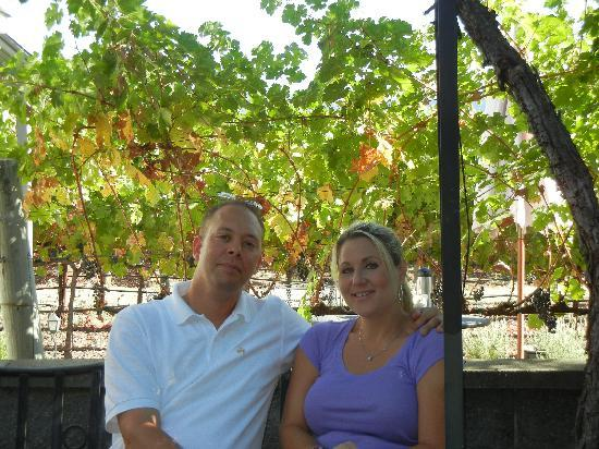 Chateau de Vie: Enjoying time with my wife