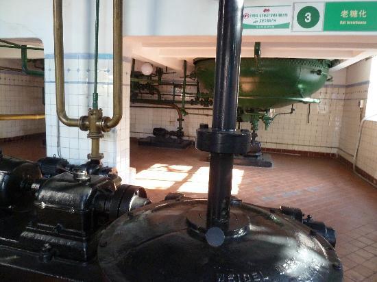 Qingdao Beer Museum: alte Braustube