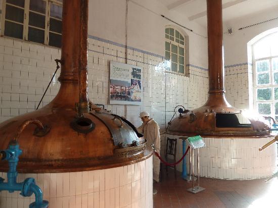 Qingdao Beer Museum: Braustube