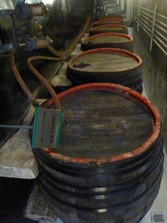 Qingdao Beer Museum: Bierfässer