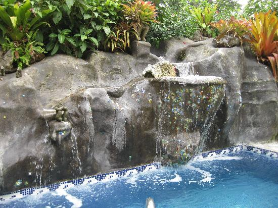OM and Cashew Hill: The waterfall pool